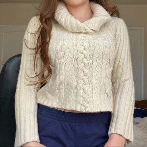 ✨Old Navy Vintage✨ Cute Thick Wool Knitted Sweater